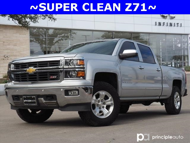 Pre Owned 2014 Chevrolet Silverado 1500 Ltz 4d Crew Cab For Sale