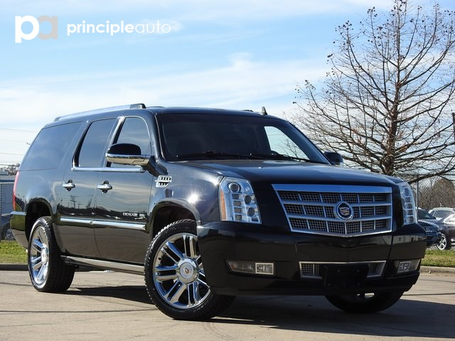 Pre Owned 2012 Cadillac Escalade Esv Platinum Edition 4d Sport