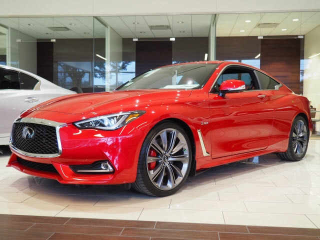 New 2018 Infiniti Q60 3 0t Red Sport 400 Coupe For Sale