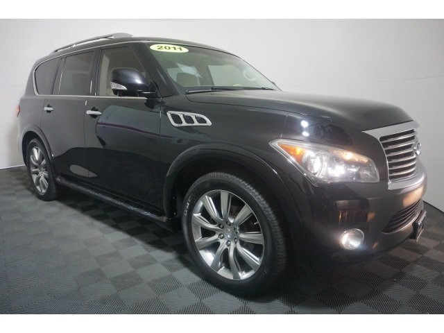 8 Passenger Suv >> Pre Owned 2011 Infiniti Qx56 8 Passenger With Navigation