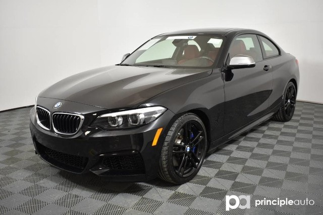 Certified Pre Owned 2018 Bmw M240i Coupe M240i W Premium Drivig