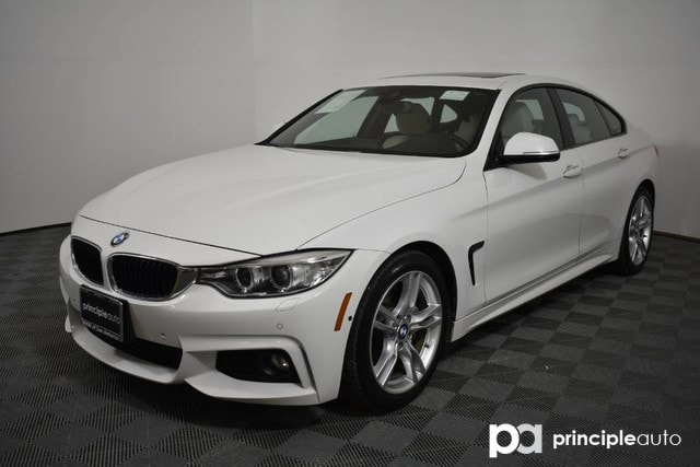 Certified Pre Owned 2016 Bmw 428i Gran Coupe W M Sport Driving