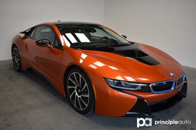Certified Pre Owned 2017 Bmw I8 Coupe Mega World Coupe For Sale